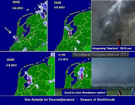Rolwolk van Katwijk tot Steenwijkerwold