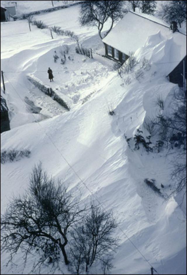 1979 – Sneeuwduinen in noord Nederland.